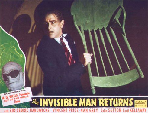 The Invisible Man Returns (Universal 1940)
