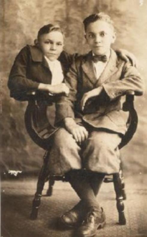 Johnny and Robert Eckhardt