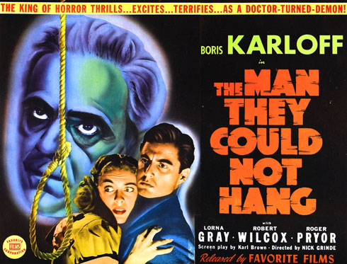 The Man They Could Not Hang (Columbia 1939)