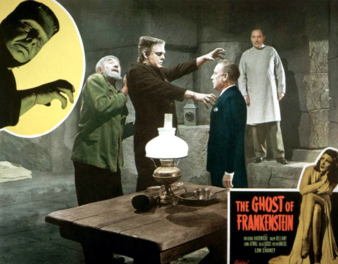 The Ghost of Frankenstein Universal 1942