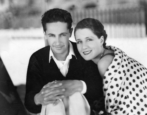 Irving Thalberg with wife Norma Shearer