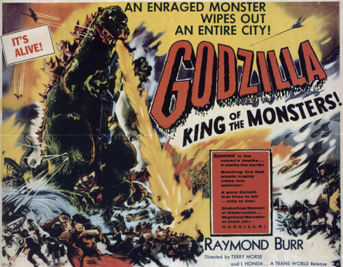 Godzilla, King of the Monsters (Toho 1956)