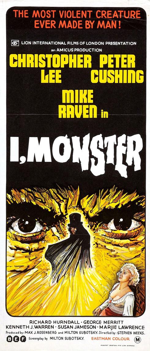 I, Monster - 1971 Amicus