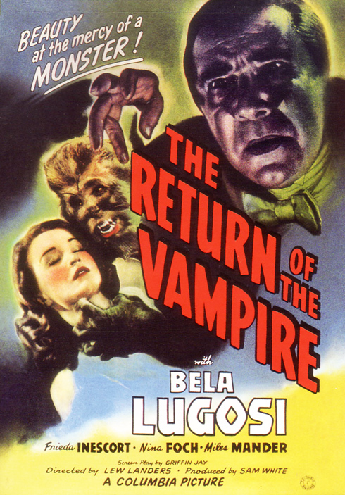 The Return of the Vampire (Columbia 1944)