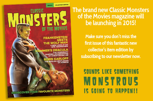 Classic Monsters of the Movies magazine