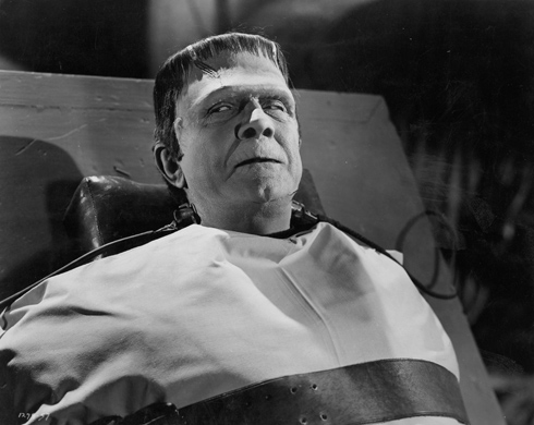 Frankenstein Meets the Wolf Man (Universal 1943) - Classic Monsters