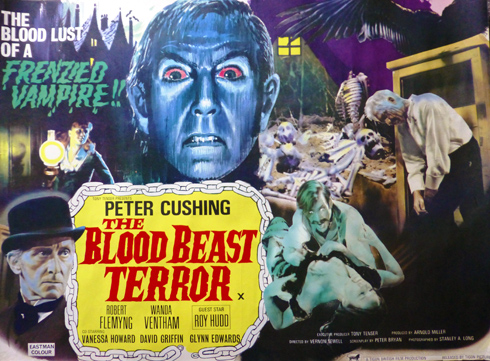The Blood Beast Terror (Tigon 1968)
