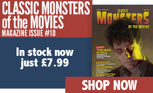 Classic Monsters of the Movies issue #10