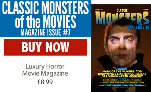 Classic Monsters of the Movies issue #7