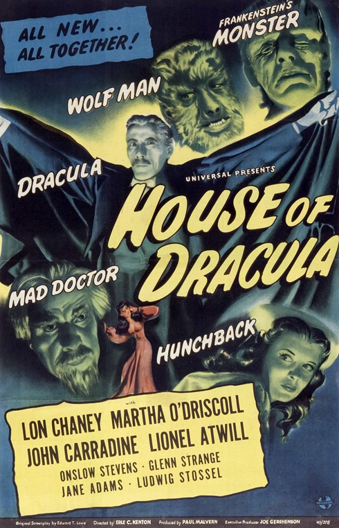 House of Dracula (Universal 1945)
