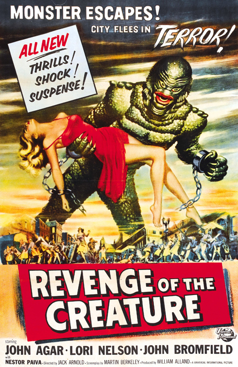 Revenge of the Creature (Universal 1955)