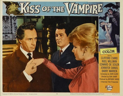 Kiss of the Vampire (Hammer 1964)