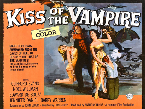The Kiss of the Vampire (Hammer 1964)