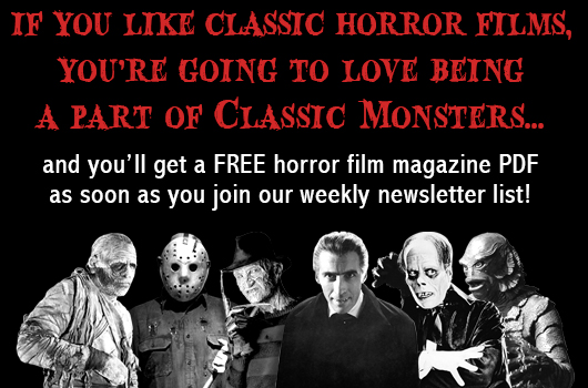 Join the Classic Monsters newsletter!