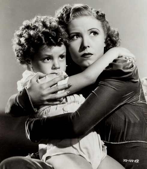 Josephine Hutchinson and Donnie Dunagan in Son of Frankenstein (Universal 1939)