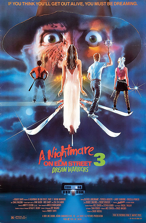 A Nightmare on Elm Street 3: Dream Warriors (New Line 1987)
