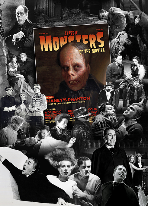 Classic Monsters of the Movies issue #17 Art Print