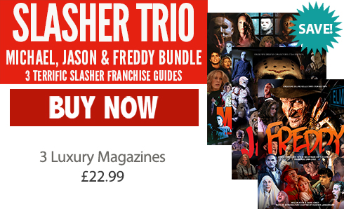 Michael, Jason, Freddy - Slasher Guide Saver Bundle