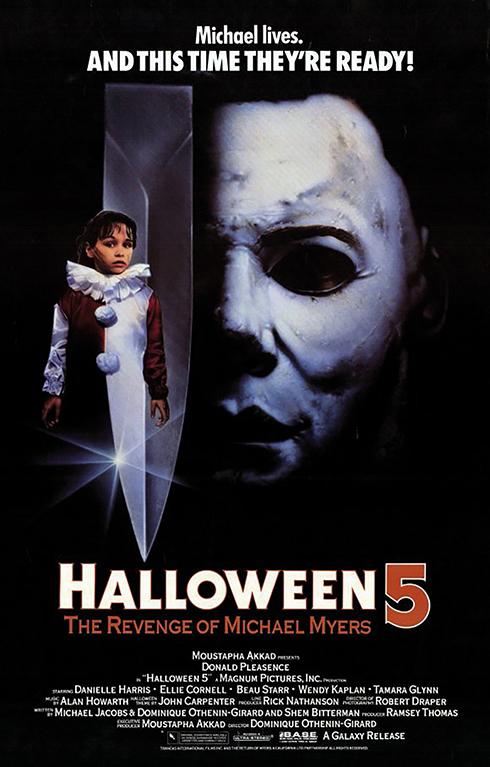 Halloween 5: The Revenge of Michael Myers (Galaxy 1989)