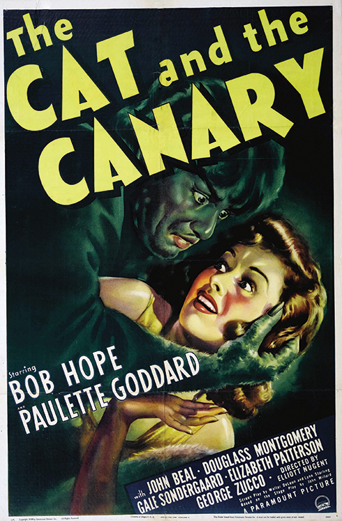 The Cat and the Canary (Paramount 1939)