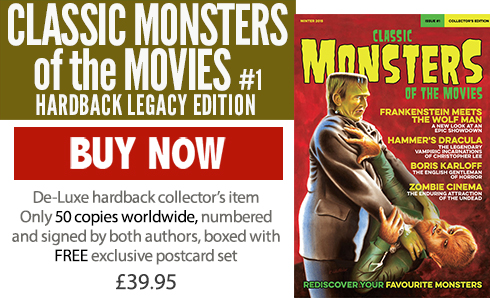 Classic Monsters of the Movies Issue #1 Legacy Edition Hardback