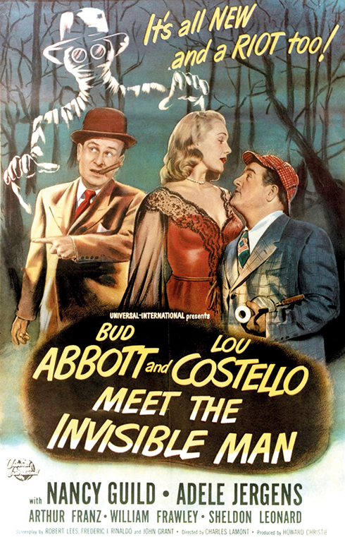 Abbott and Costello Meet the Invisible Man (Universal-International 1951)