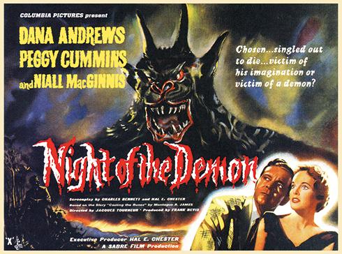 Night of the Demon (Columbia 1957)
